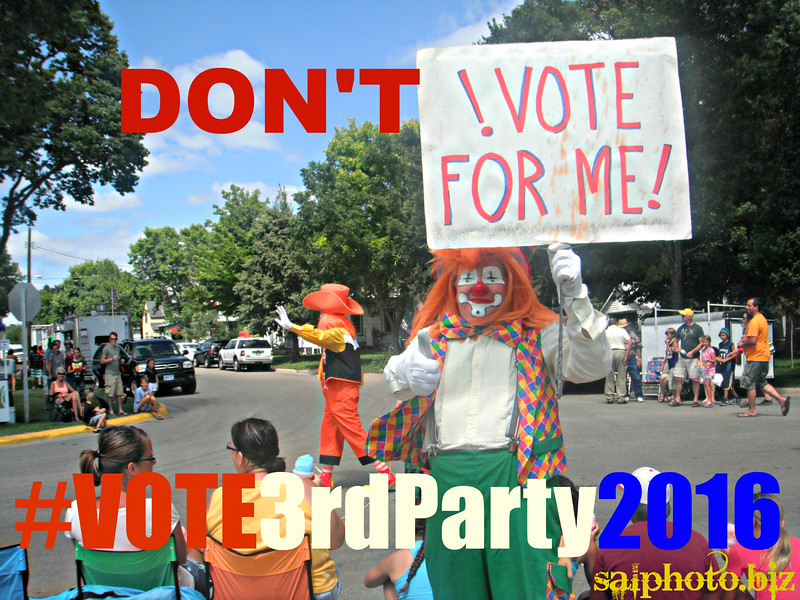 """Who Are The Third Party Presidential Candidates? <br /> <a href=""""https://youtu.be/rqhw6W0K5t0"""">https://youtu.be/rqhw6W0K5t0</a><br /> <br /> <a href=""""http://www.politics1.com/p2016.htm"""">http://www.politics1.com/p2016.htm</a><br /> <br /> NATIONAL PRESIDENTIAL JOKE DAY<br /> <a href=""""http://www.nationaldaycalendar.com/2016/08/10/august-11-2016-national-raspberry-bombe-day-national-presidential-joke-day-national-sons-and-daughters-day/"""">http://www.nationaldaycalendar.com/2016/08/10/august-11-2016-national-raspberry-bombe-day-national-presidential-joke-day-national-sons-and-daughters-day/</a><br /> National Presidential Joke Day is observed annually on August 11.<br /> <br /> A day to recognize the humor often found and yet not so appreciated in the highest office in the land, National Presidental Day offers a nod to the gaffes, social missteps and sometimes downright hilarious mistakes presidents make. During an election year, the scrutiny of the constituency can be brutal; the presidential candidates should be prepared to handle the presidential joke.  The citizenry will be listening!<br /> <br /> HOW TO OBSERVE<br /> <br /> Of all your presidential memories and history lessons what is your favorite presidential joke? Use #PresidentialJokeDay to share on social media.<br /> <br /> HISTORY<br /> <br /> National Presidential Joke Day began on August 11, 1984. During a sound check for his Saturday evening radio broadcast, President Ronald Reagan joked, """"My fellow Americans, I'm pleased to tell you today that I've signed legislation that will outlaw Russia forever.  We begin bombing in five minutes."""" Since 1982, the networks had agreed comments made during sound checks were off the record.  However, it was leaked to the general public and CBS eventually broadcast the recording on its Monday evening report.  Critics blasted Reagan as being unpresidential, and others considered the joke harmless under most circumstances.<br /> <br /> <br /> <a href=""""https://goodnewseverybo"""