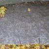 Salem witch trials gravestone