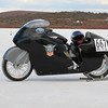 The other half of team SCR 1200 HD Sportster 161mph.
