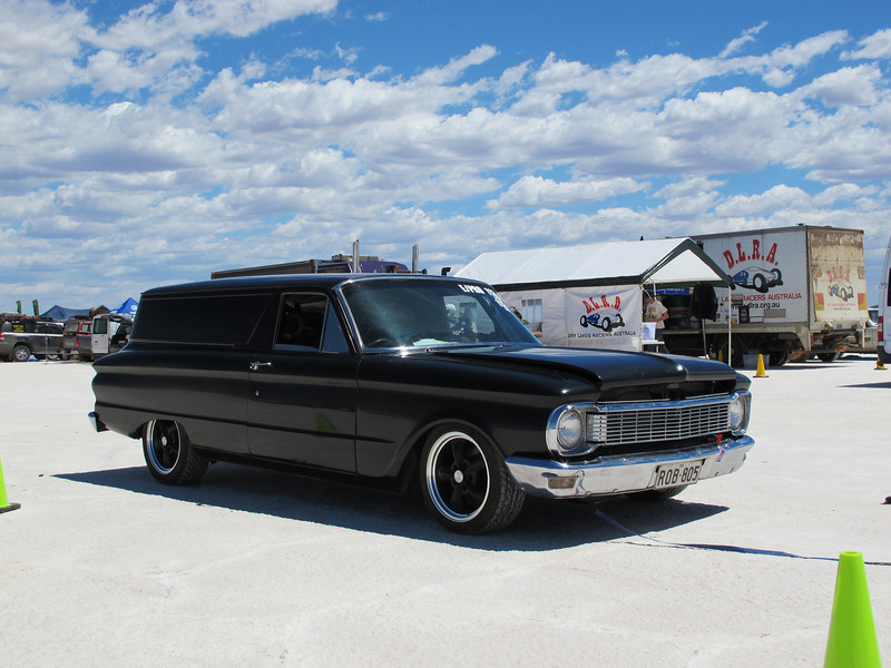 Cool XP Falcon sedan delivery, a shame it blew up on its first run.