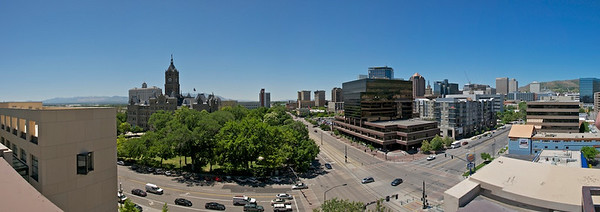Salt Lake City - View from Library Roof