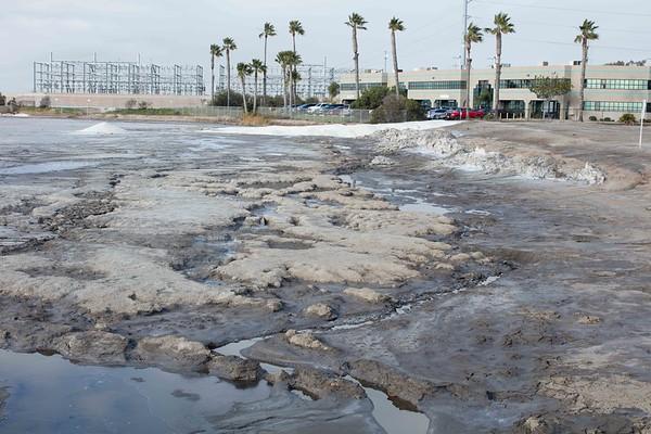 Salt Works Pond damage SDG&E Drainage 2/03/2017