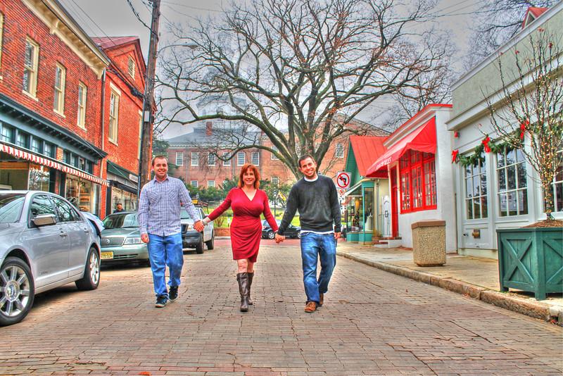 Salvatore Family Photo Shoot Dec 2012 Maryland Ave, Annapolis
