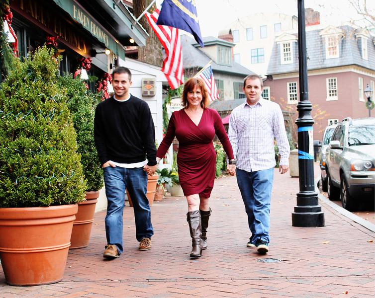 Salvatore Family Photo Shoot Dec 2012 , Annapolis
