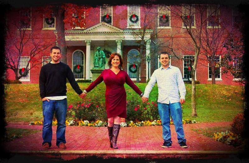 Salvatore Family Photo Shoot Dec 2012 Capitol Buidling, Annapolis