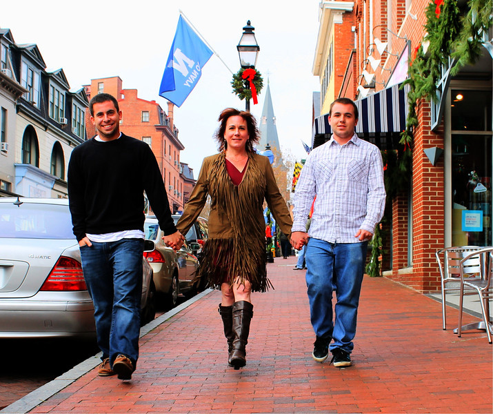 Salvatore Family Photo Shoot Dec 2012 West Street, Annapolis...one of my favorites!