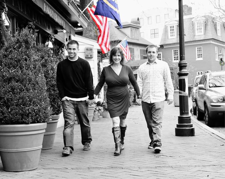 Salvatore Family Photo Shoot Dec 2012 State Circle, Annapolis