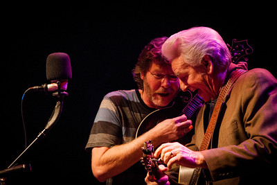 Sam Bush and Del McCoury perform at a sold out Boulder Theater on March 24, 2013. Photos by Josh Elioseff, heyreverb.com.