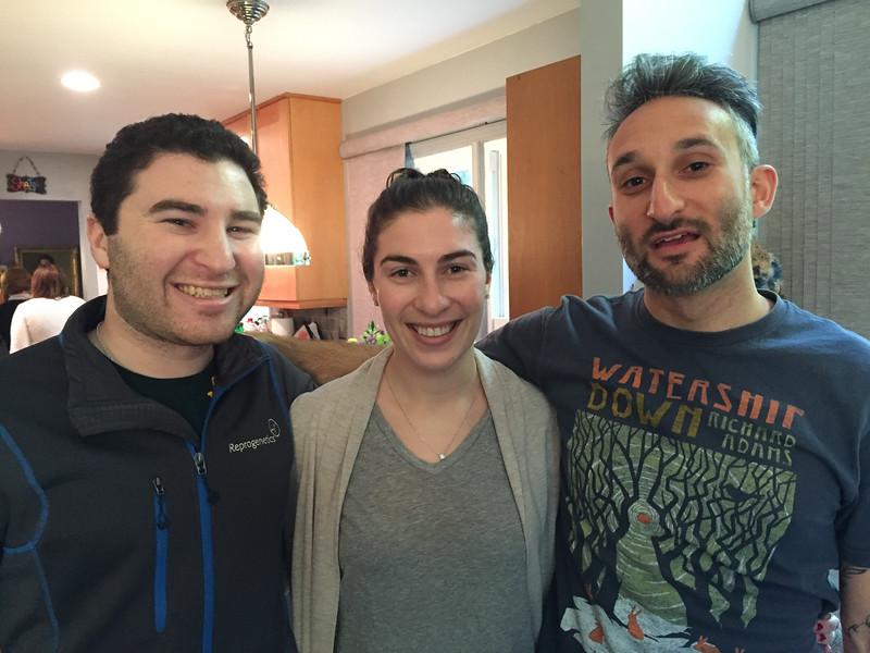 Ari with Ari and Dina Goldberg-Strassler