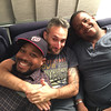 Ari with friends David Dupree and Bryant Harris