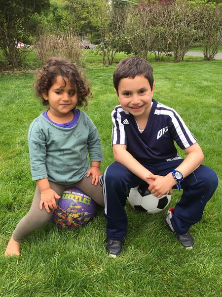 Cousins Sami and Koby