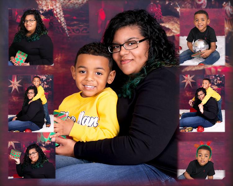 Christmas Collage 8x10