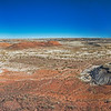 red panorama Bisti National Wilderness