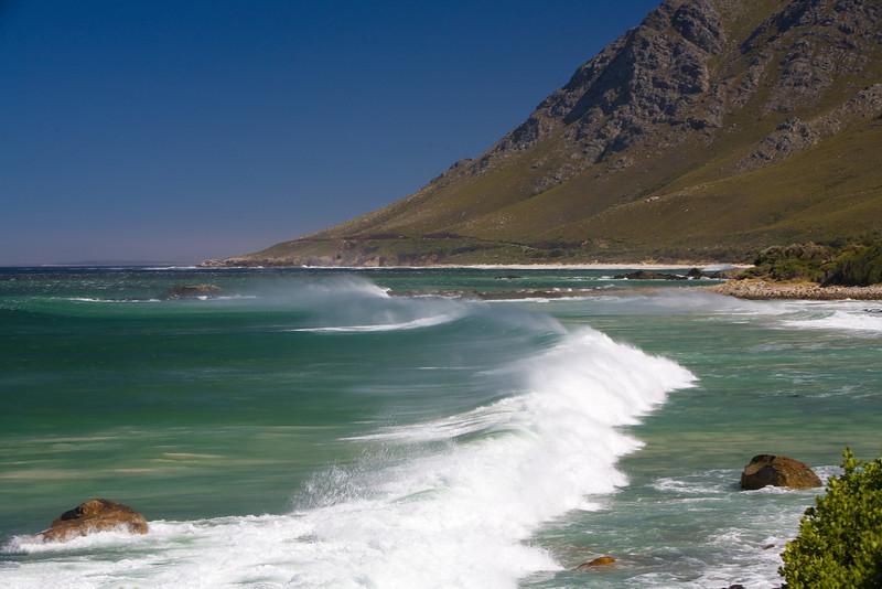 wind-torn waves