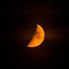 orange half moon