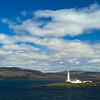 Firth of Lorn with  Great Bernera Lighthouse