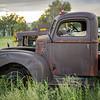 rusty pickup in field off NM 70