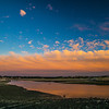very low tide Pamet Harbor sunset