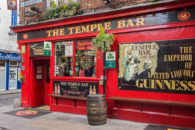 The Temple Bar Dublin