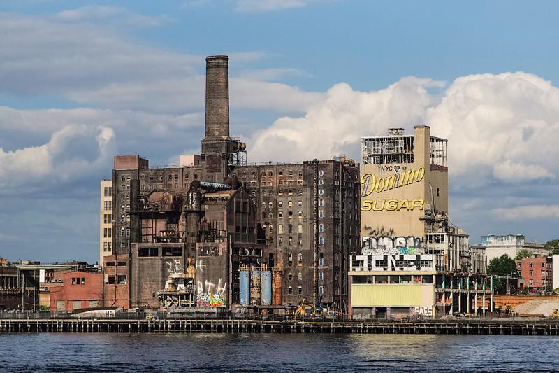no longer standing Domino Sugar Refinery Brooklyn
