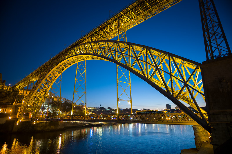 Ponte de Luis I twilight