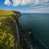 Kilt Rock falls Isle of Skye