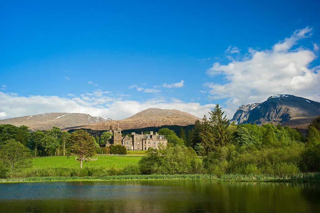Inverlochy Castle with Ben Nevis