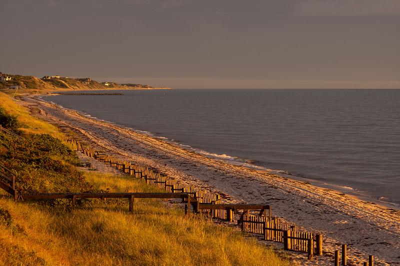 golden sunset Corn Hill Beach birthday present