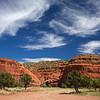 red rocks Jemez Pueblo Visitor Center