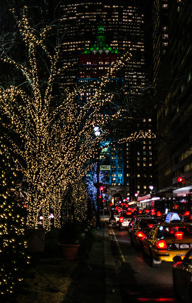 lights on Park Ave