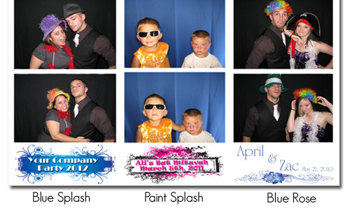 Great photo booth wedding favors for your guests to take home.