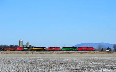 Montreal Maine & Atlantic, Oil Train, Farnham, Quebec