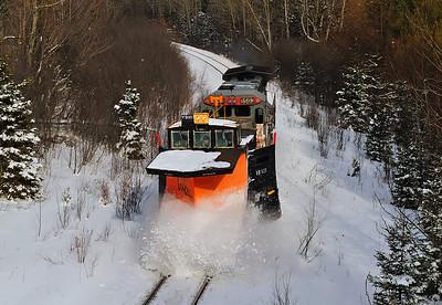Montreal Maine & Atlantic, Snow Plow Extra, Cookshire, Quebec