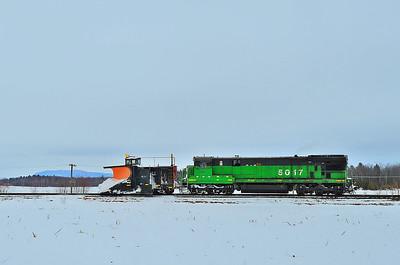 Montreal Maine & Atlantic, Snow Plow Extra, Farnham, Quebec