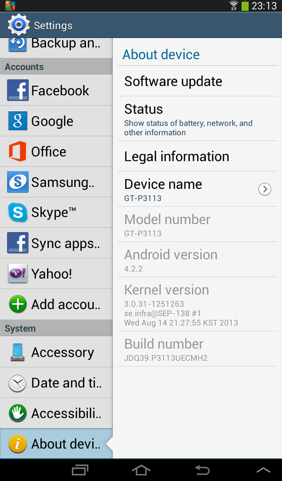 Got upgraded to 4.2.2