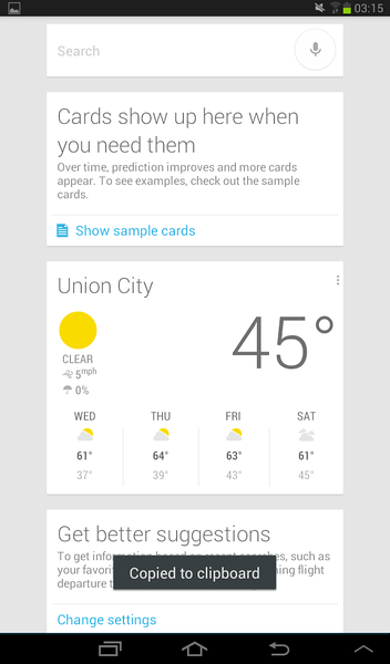 Screenshot - Google