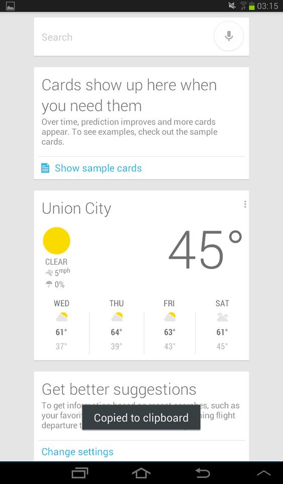 Screenshot - Google