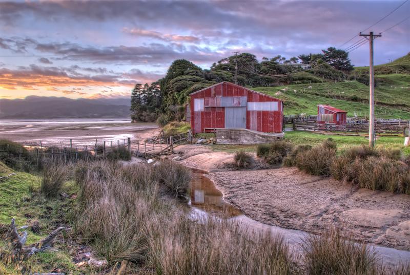 Shearing Shed, Kaihoka, New Zealand