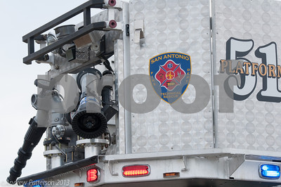 SAFD #51 responds to a vehicle accident in the RIM at 1604 & IH10 on 12Feb2013. Two vehicles collided with no major injuries reported.