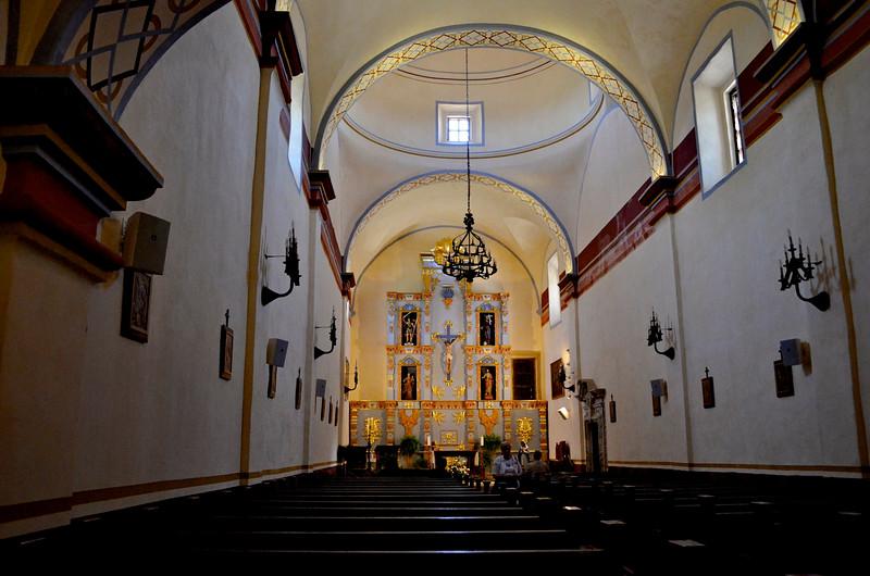 Mission San Jose Inside Chapel