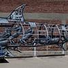 The shark--downtown San Diego