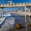 A peek under the pier at Ocean Beach