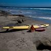 Tools of the trade--Del Mar beach