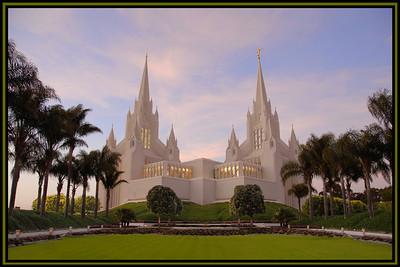San Diego Temple 24x36