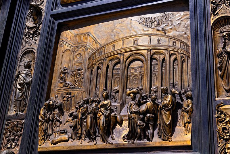 Golden Door Panel at Grace Cathedral