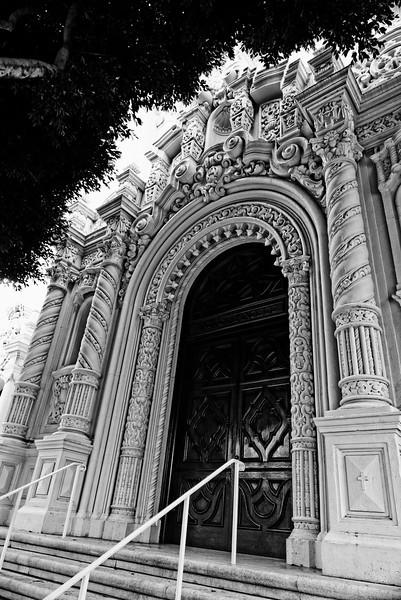 Mission Dolores Entrance