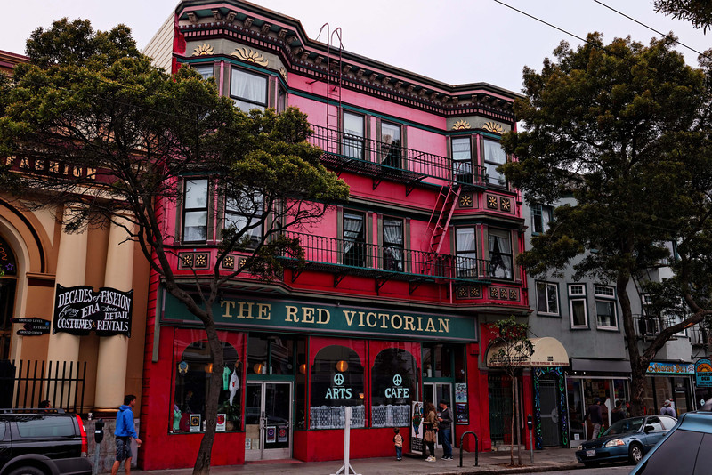 Haight-Asbury, The Red Victorian