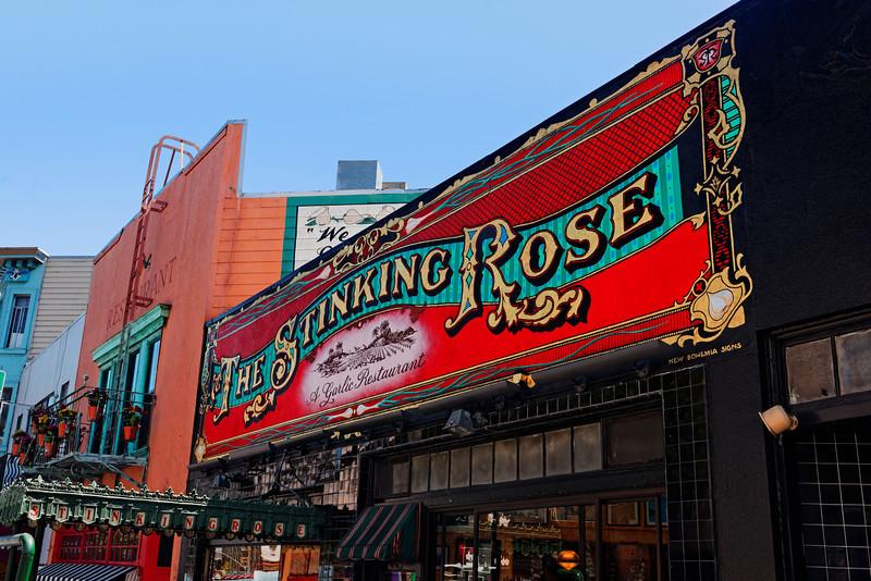 The Stinking Rose Garlic Restaurant!