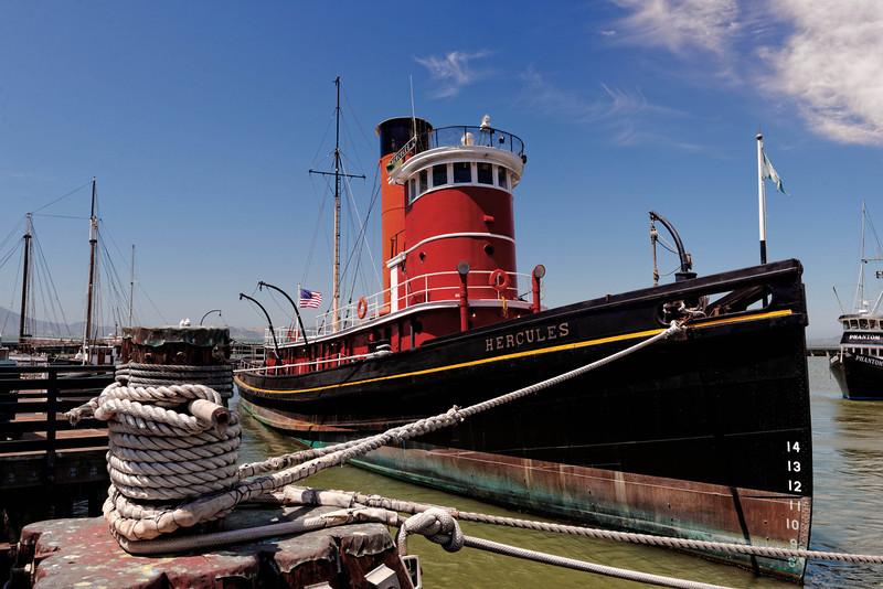 Hyde Street Pier - Hercules Steam Tug - 1907
