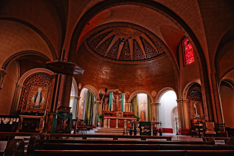 Interior, Mission Dolores